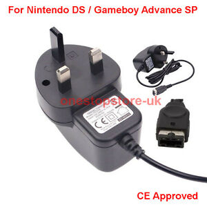 Mains-AC-Charger-Adapter-3-Pin-UK-For-Nintendo-DS-Gameboy-Advance-GBA-SP