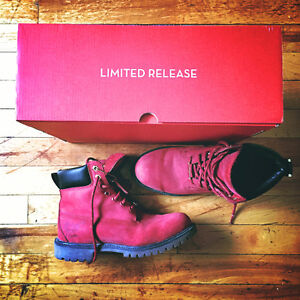 Limited Edition Timberlands - Size 8.5