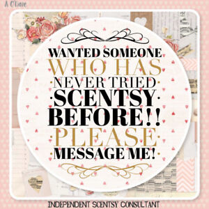 Looking for  people who have never tried Scentsy but want to.