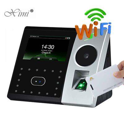 Wifi Tcpip Palm And Facetime Attendance Pface202 Biometric Fingerprint Recorder