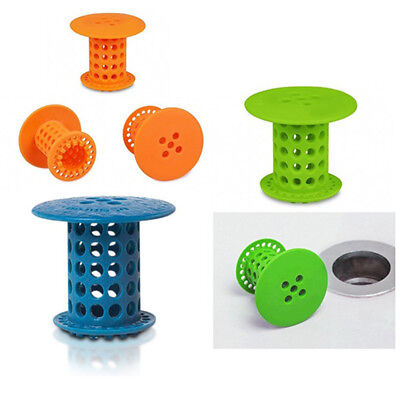 hair catcher shower drain tub sink bath room plug strainer pet tub cover trap ebay. Black Bedroom Furniture Sets. Home Design Ideas