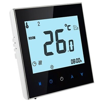 Floor Heating / Water Heating System LCD Display Programmable Room Thermostat