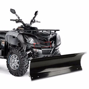ATV SNOWPLOW // FRONT ATTACHMENT // ATV SNOW PLOW 905 665 0305