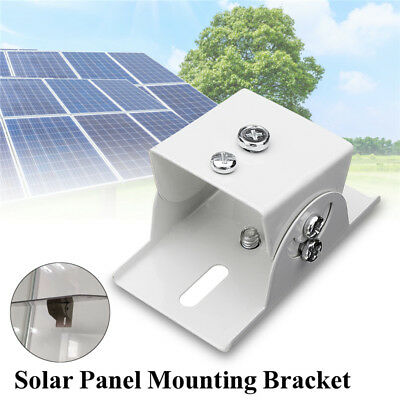 Solar Panel Mounting Bracket Clamp Aluminum Kit Set For RV Boat Off Grid Roof Roof Mounting Kit