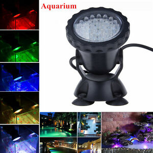 Multicolor 36 led underwater spot light lamp for aquarium for Koi pond underwater lighting