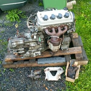 civic motor and transmission D17A1