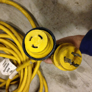 Marine Cord shore power  30 A 125 V @ 40' $100