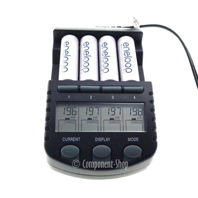 4x AA Eneloop rechargeable batteries + BC-700 Intelligent Charger Deal
