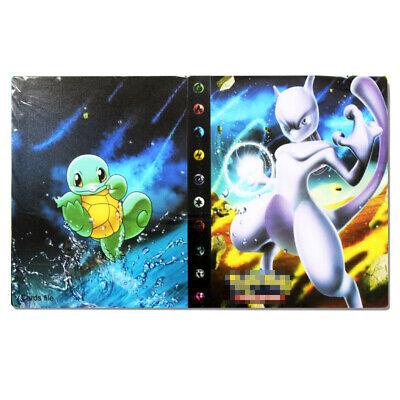 Pokemon 240 Cards Album Binder List Card Collectors Folder Book DIY Cards Holder