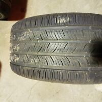 Pair of two 245 40 17 Continental ContiPro Contact tires