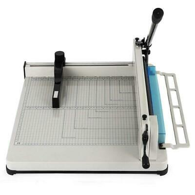 New 17 A3 Paper Cutter Guillotine Trimmer Cutting Machine Heavy Duty 400 Sheets