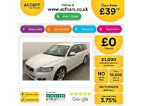 Volvo V50 1.6D DRIVe SE FINANCE OFFER FROM £39 PER WEEK!