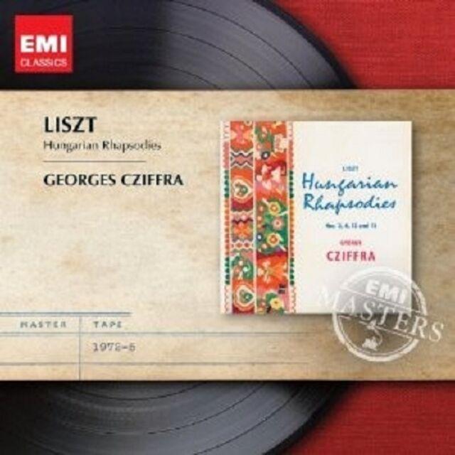 GYÖRGY CZIFFRA - UNGARISCHE RHAPSODIEN  CD SOLOINSTRUMENT KLASSIK NEU LISZT
