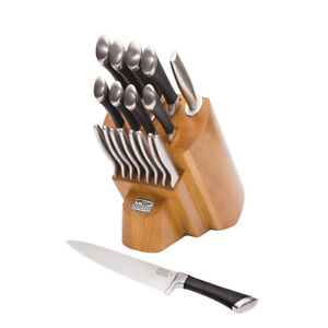 Knife Block Set Chicago Cutlery 1119644 Fusion Forged 18-Piece