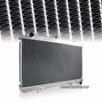 2 Row Full Aluminum Cooling Radiator For 95-98 Nissan 240SX SILVIA S14 SR