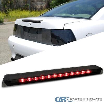 Fit Ford 99-04 Mustang Replacement LED 3rd Third Brake Light Rear Lamp Smoke