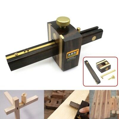8 inch Marking Gauge Wood Scribe Mortise Gauge With Brass Screw Measuring Tool