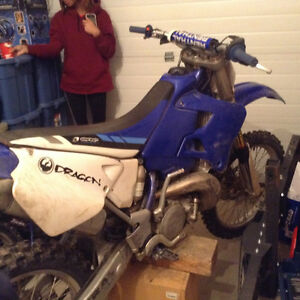 Trade YZ 250 for race quad, mustang, 85 or older Chevy truck