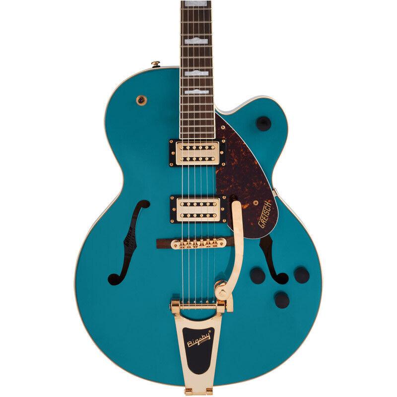 Gretsch G2410TG Streamliner SC Electric Guitar, Ocean Turquoise (NEW)