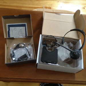 Plantronics DC Headset and Adapter (New)
