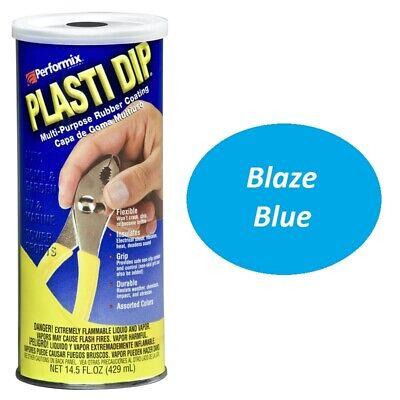 Blaze Blue 14.5oz Performix Plasti Dip Plastic Rubber Grip Coating Handle