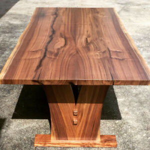 Custom built live edge dining tables