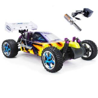 HSP RC CAR 1/10 2.4ghz 2Speed Nitro 4WD Off-Road Buggy 10716 1071