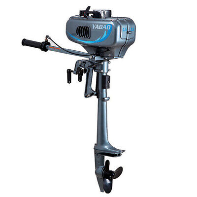 2 Stroke Gasoline Outboard Motor 3.5hp Boat Engine Air Cool Cdi Systerm 10kmh