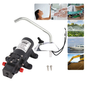 12V 35PSI Water Pump Self Priming Galley Faucet Tap For Boat Caravan Garden PWC