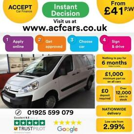2016 WHITE CITROEN DISPATCH 1.6 HDI 90 1000 L1 ENTERPRISE CAR FINANCE FR £41 PW