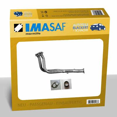 IMASAF Auspuff Hosenrohr, Abgasrohr für Audi 100/A6 (C4) + Avant 2.0 74/85KW