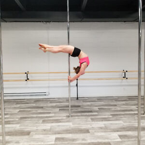 Pole dance and flexibility classes on the South Shore