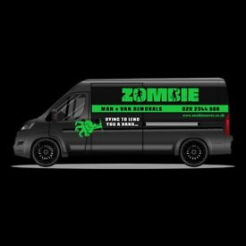 ZOMBIE MAN AND VAN FROM £15 p/h Its A No Brainer