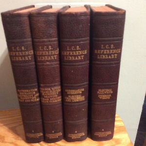 ICS Reference Library 4 books, steam turbines,electric railway London Ontario image 1