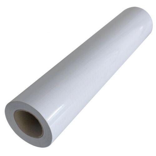 "196x25"" 3Mil Sain Matt Paper Adhesive Glue Cold Laminating Film Roll Laminator"