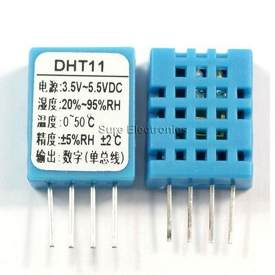 Digital Humidity Temperature Sensor 2pcs Dht11