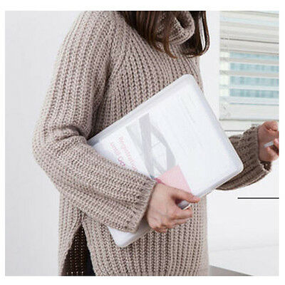 A4 Two-way File Case Briefcase Presentation Document Folder Book File Portfolio