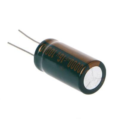 10000uf 16v Capacitance Electrolytic Radial Capacitor High Frequency Low Esr New