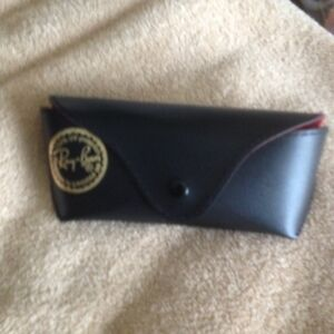RAY BAN EYEGLASSES CASE & CLOTH