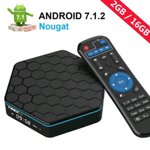 NEW / FULLY UPDATED T95Z PLUS 2G/16G ANDROID BOX - PLUG & WATCH