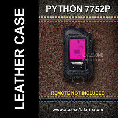 Python 7752P Protective Leather Remote Control Case For Responder Remote Control