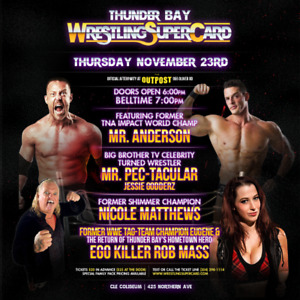 Family 4 Pack of tickets to Wrestling SuperCard