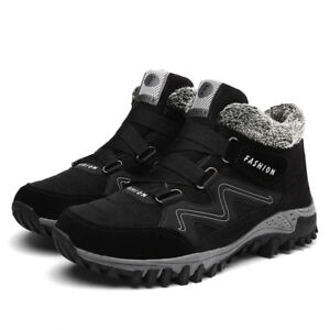 Men's Winter Snow Boots Shoes Footwear Fashion Rubber Ankle