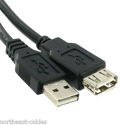 USB 2.0 5m Extension cable lead A plug - A Male to...