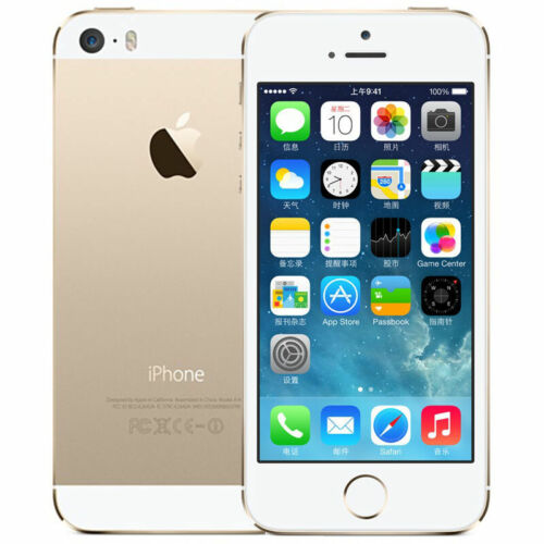 NEW APPLE IPHONE 5S A1457(EU) 4G LTE 16GB GSM UNLOCKED - SPACE GREY/SILVER/GOLD UK