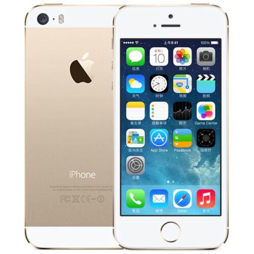 Gold Apple iPhone 5S 64GB (A1533) Factory Unlocked Verizon Smartphone US