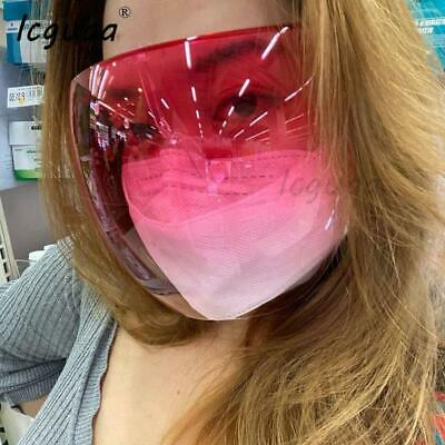 Face Shield Transparent Glasses Protective Cover Safety Glasses Goggles Mask