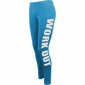 BRAND NEW WORK OUT Print Leggings Kitchener / Waterloo Kitchener Area image 2