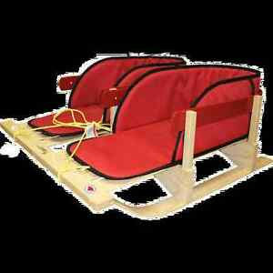 Dual Place Baby Sled / Sleigh by Streamridge with pads