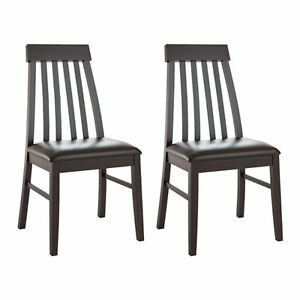 6 dining room chairs - NEW